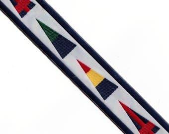 15 Yards Color Shapes Jacquard Ribbon