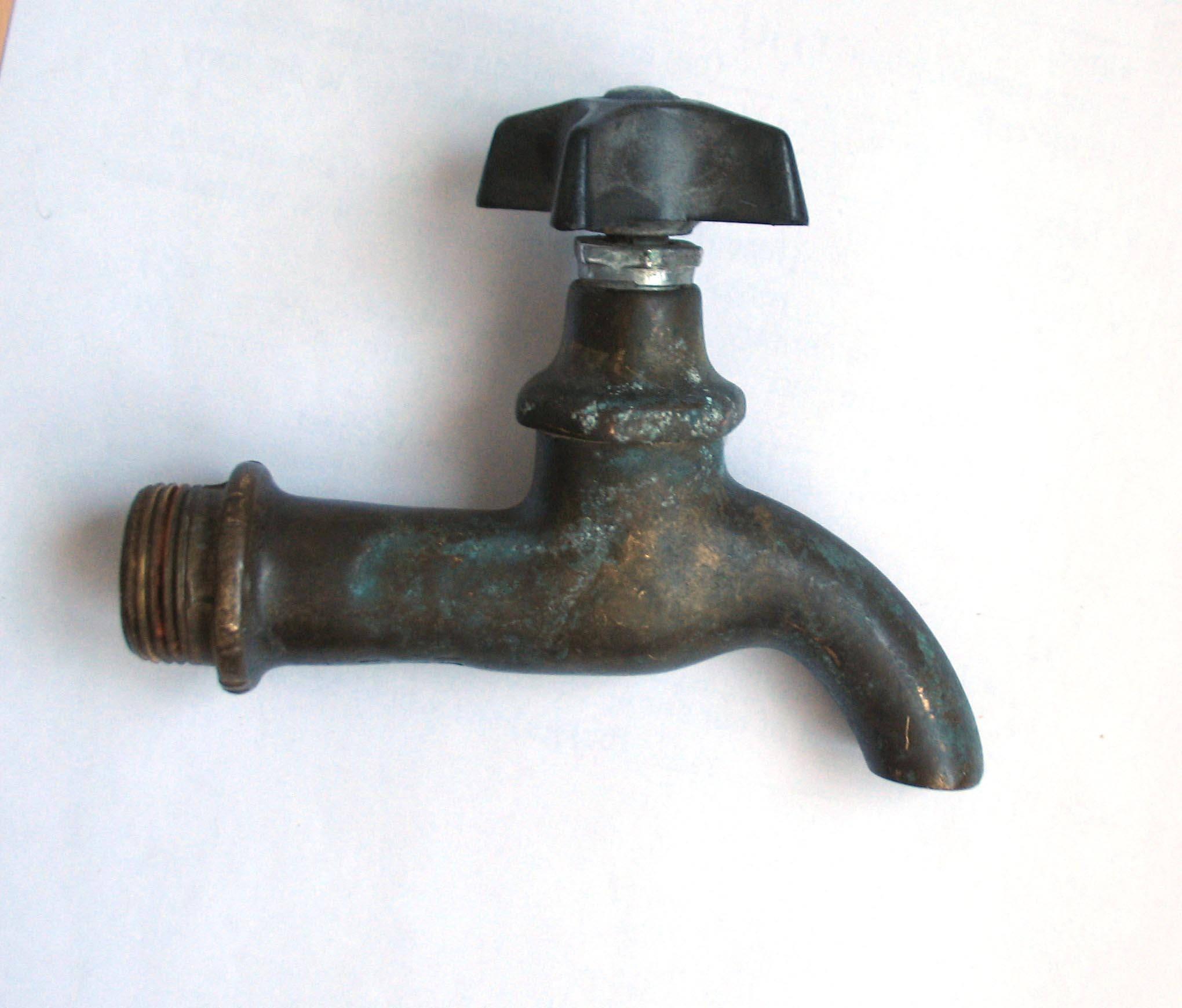 Vintage Brass Faucet Brass Tap Vintage Water Tap Vintage Brass