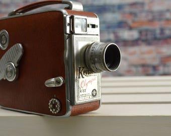 Vintage Keystone Olympic K-32 8mm movie video camera