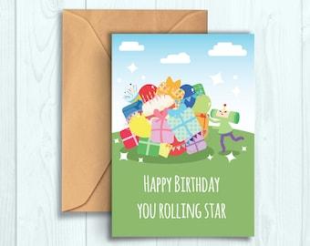 Katamari Birthday Card