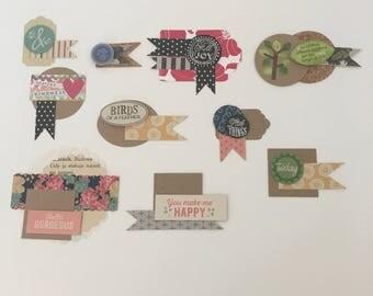 10 Handmade Scrapbook Embellishments