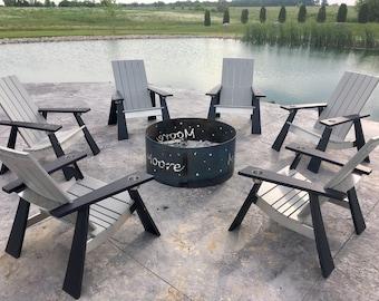Modern Muskoka / Adirondack Chair - Combo Colour