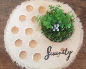 Essential oil serenity stand