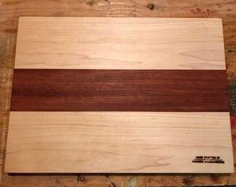 FabulousBirdseye Maple/Jatoba wood Cutting Board