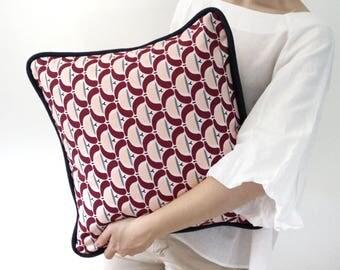 Pillow Magic Potion MEDI-100% Handmade stylised flowers-Fantasia-cotton canvas
