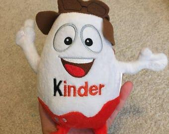 Kinder egg plush toy