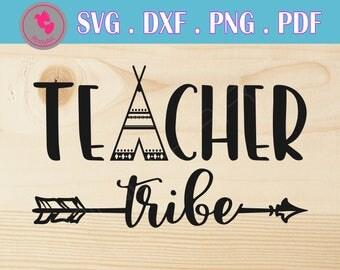 teacher tribe svg teacher tribe svg file teacher tribe dxf teacher tribe cut file teacher svg teaching svg files teacher svg file for cricut