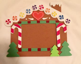 Gingerbread House Picture Frame