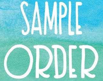 Wallpaper Custom Sample Order