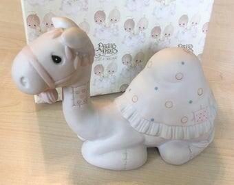 Vintage Precious Moments Pore Bisque Camel Figurine E-2363