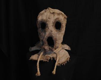 """Mask Scarecrow """"Scream"""", horror, halloween, masquerade, free shipping"""