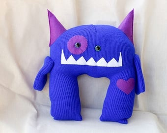 Beanie Monster – Night – Snuggle Size