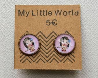 Small Hawaiian earrings