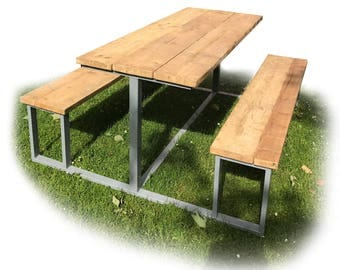 Industrial One Piece Bench