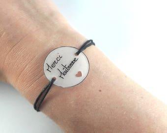 Bracelet knots sliding thank you teacher gift