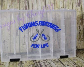 Personalized Tackle Box - Fishing