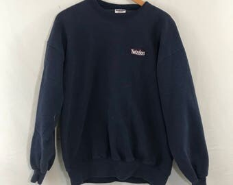 Vintage 90s Thick Twizzlers Oversized Crewneck Sweat Shirt Size XL