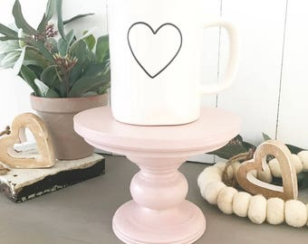 "Blush Handmade Mini-Stand ""The Junie"""