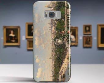 "Martin Rico Ortega, ""View of Paris"". Samsung Galaxy Note 8 Case Google Pixel XL Case LG G6 case Galaxy A3 2017 Case and more."