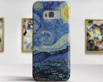 "Van Gogh ""Starry Night"" Google Pixel 2 Case Samsung Galaxy S8 Case LG V30 case Galaxy Note 8 Case. Samsung, Google, LG, Huawei cases."