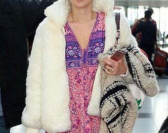 Boho Gypsy Folktown Style Maxi Dress Gown Blossom- Size XS