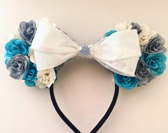 Frozen-inspired Floral Ears