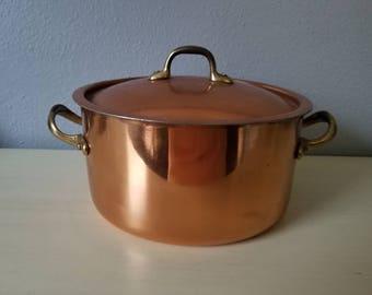 Copper small pot