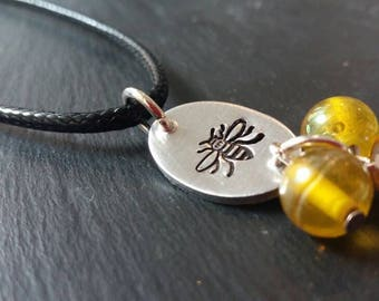 Manchester bee necklace, worker bee necklace, limited edition necklace