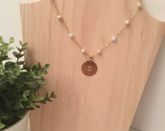 Gods clock necklace