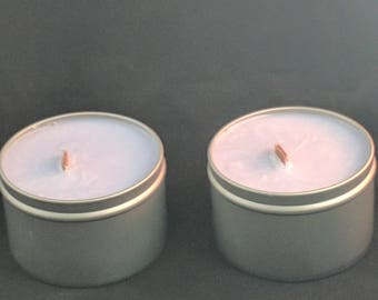 Eucalyptus and Mint Candle 8 oz All Soy Wax