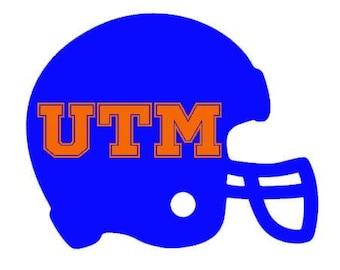 UT Martin (UTM Skyhawks) Football Helmet Decal