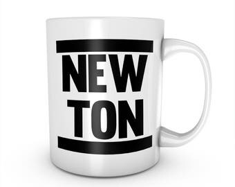 Newton Science Physics Student Ceramic Mug Coffee Tea Cup