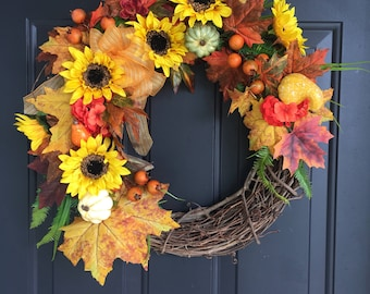 Sunflower fall