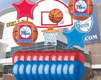 Philadelphia 76ers 25 Piece Balloon Set