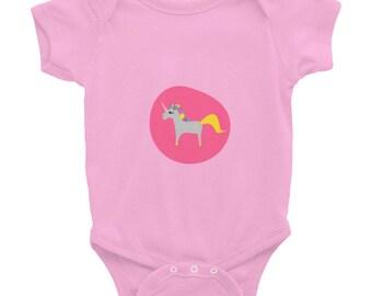 Unicorn Bodysuit, Baby Girl Clothes, Newborn Baby Girl, Girly Baby, Baby Bodysuit Vest, Baby Gift, Baby Body, Baby Outfit, Infant bodysuit