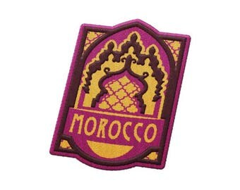 Morocco Travel Patch