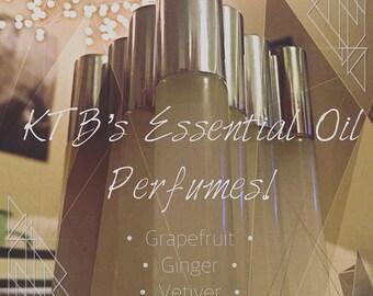 KTB's Essential Oil Pefumes: Coquina