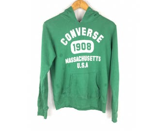 CONVERSE Hoodies Unisex Kids Size Large Size Kids Bog Spell Out