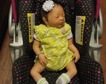 Reborn biracial baby girl ready to ship