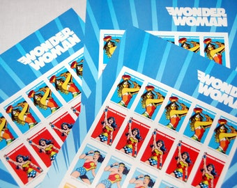 20 Wonder Woman 75th Anniversary USPS Forever First Class Postage Stamps 1 Sheet of 20