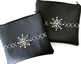 X and O Geometric clutch