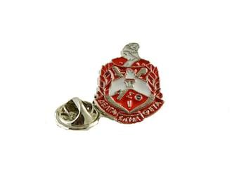 Delta Sigma Theta Sorority Lapel Pin Broach Tie Tack #2