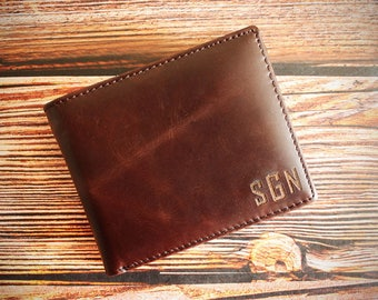Leather Wallet,Engraved Wallet,Personalized Wallet,Custom Wallet,Wallet Men,Wallet,Gifts,Mens,Groomsman Gift,Mens Leather Wallet