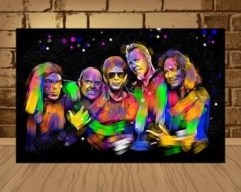 metallica poster,metallica print,metallica art,metallica,james hetfield poster,james hetfield art,james hetfield,band poster,rock poster,art