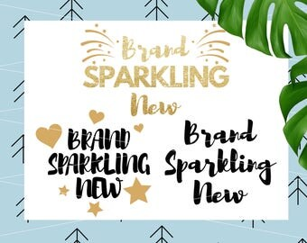 Brand Sparkling New svg Baby Girl SVG 1st Birthday svg Newborn Girl svg Star svg Heart svg for Cricut Silhouette cut files lfvs