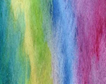 Rainbow/watercolor/ombre/printed vinyl/HTV/vinyl/651/oracal/adhesive/blanks/small business/heat transfer/