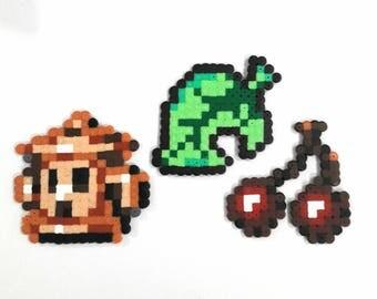 Perler bead jesus - Pixel Art Animal Crossing
