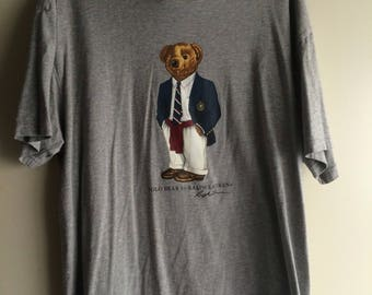 Vintage Polo Bear T-shirt
