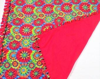 Tie Dye Blankets