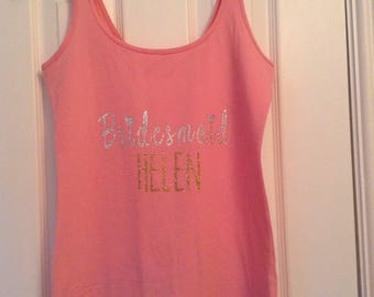Personalised Wedding Top, Hen Party top, I'm Getting Married Vest Top, Bride To Be Tshirt, Hen Party Tshirt, Bachelorette Party Tshirt